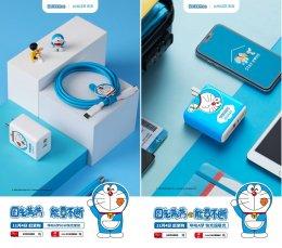 หัวชาร์จ iPhone 12 ลาย Doraemon
