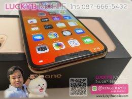 iPHONE11PRO MAX 256GB GOLD เครื่องศูนย์ไทย TH อปก แท้ครบยกกล่องขาดหูฟัง