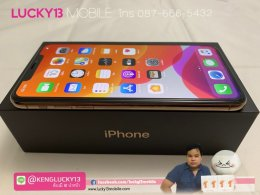 11PROMAX 256GB GOLD ศูนย์ไทย TH มือ 2 สภาพนางฟ้า ราคาเพียง 34,900฿ เท่านั้นจ้า !!
