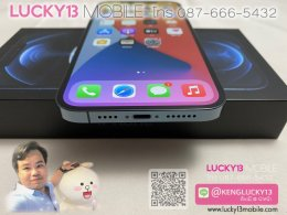 iPhone 12PROMAX 256GB PLASIFIC BLUE ศูนย์ไทย มือสอง