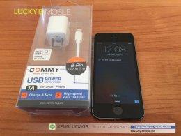 ขาย iPHONE5S มือสอง 16GB สีเทาดำ เครื่องศูนย์ไทย Model : TH