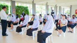 บรรยากาศการรับรายงานตัวนักศึกษาใหม่ 2563
