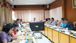 ประชุมคณะกรรมการสภาวิทยาลัยชุมชนสงขลา ครั้งที่11/2562