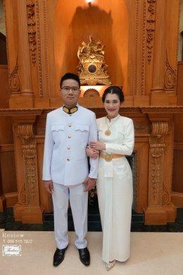 Review ชุดไทยสีงาช้าง / สีออฟไวท์ / สีขาว / สีครีม