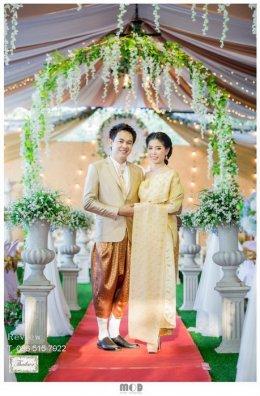 Review ชุดไทยสีทอง / สีเหลืองทอง / สีน้ำตาลทอง