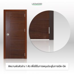เคล็ดไม่ลับ! การติดบานพับประตู