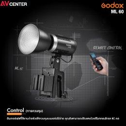 Godox ML60 LED Light พลังแห่งการสร้างสรรค์ พลังแห่งไฟสตูดิโอ