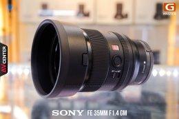 "New arrivals สินค้าเข้าใหม่ สด ๆ ร้อน ๆ ""Sony FE 35MM F1.4 G-Master"" Prime Lenses มุมกว้างคุณภาพพรีเมี่ยม ตอบโจทย์สาย Portrait และสาย Landscape"