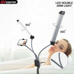 """ไลฟ์แล้วปัง ด้วยพลังไฟจาก """"LED DOUBLE ARM LIGHT CLAR LF-Y500"""""""