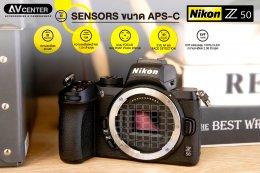"Nikon Z50 กล้อง Mirrorless ระดับ ""Entry level"""