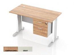 โต๊ะทำงานขาเหล็ก DS-MD02