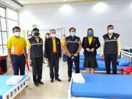 บริจาคของโรงพยาบาลสนาม ศูนย์โอทอปกาญจนบุรี