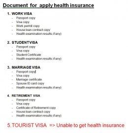 ประกันสุขภาพชาวต่างชาติ Health insurance for Expat