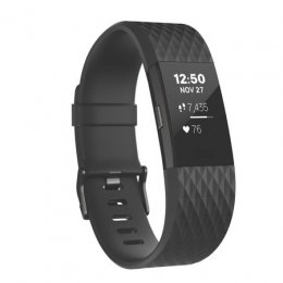 FitBit :Charge2 Black Gunmetal Large