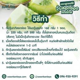 วุ้นลอดช่องแตงไทย