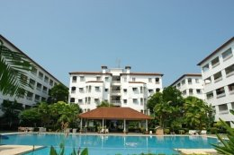 BaanSuanLalana  Building SB 4th floor (foreighner name)  Fully Furnished 1 Bed 2 Baths Bath