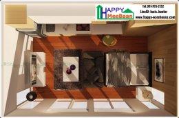 แจกแบบบ้าน บ้านน็อคดาวน์ บ้านสำเร็จรูป รีสอร์ท มีชั้นลอยพร้อมบันไดวน