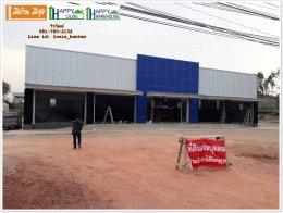 สร้างร้านค้า ด้วยโครงสร้างเหล็ก ระบบโกดังสำเร็จรูป ราชบุรี ราคาถูก แนะนำ