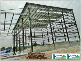 สร้างโรงงาน สร้างโกดัง สร้างคลังสินค้า โกดัง โกดังสำเร็จรูป โรงคั่วกาแฟ เชียงราย
