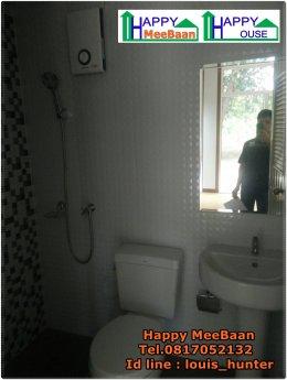 บ้านสำเร็จรูป บ้านน็อคดาวน์ MS07 มีห้องน้ำภายใน