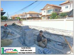 รีวิวขั้นตอนการสร้างบ้านน็อคดาวน์ เป็นโกดังสินค้า คลังสินค้า สองชั้น