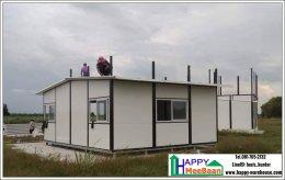 สร้างรีสอร์ท สร้างบ้านน็อคดาวน์ แบบมีชั้นลอย