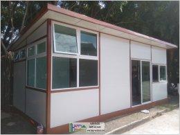สร้างออฟฟิศ ด้วยระบบบ้านสำเร็จรูป บุรีรัมย์