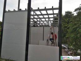 สร้างบ้านพักพนักงาน สองชั้น สไตล์รีสอร์ท