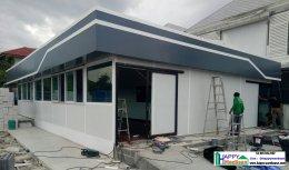 สร้างอาคารอเนกประสงค์ ร้านค้า คลีนิค ฟิตเนส ติดแอร์ประหยัดไฟ รวดเร็ว ราคาถูก