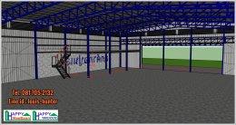 สร้างโรงงานขนาดใหญ่ ระบบโกดังสำเร็จรูป กระบี่