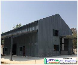 สร้างร้านค้า สร้างอาคารสำนักงาน โครงสร้างเหล็ก สไตล์โรงงาน โกดัง
