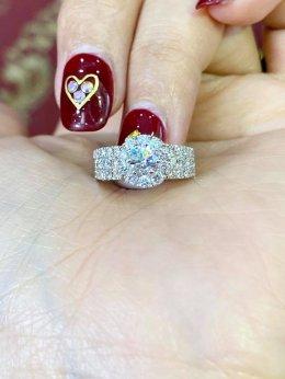 โปรโมชั่น แหวนเพชรเบลเยี่ยมไร้ติหนิ ราคาสุดช็อค