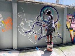 ผลงานที่สร้างสรรค์โดยศิลปิล CLT13