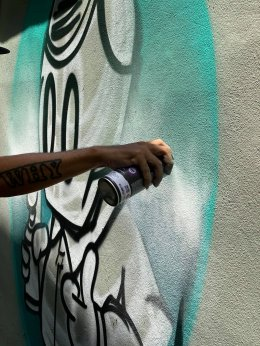 ภาพบรรยากาศเบื้องหลังของ ศิลปิน #omeka