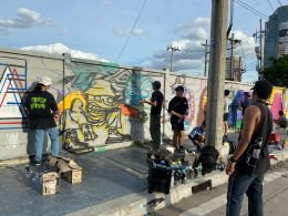 กิจกรรม Rama 9 Graffiti Showcase by Show Dc x HypeSpray