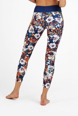 กางเกงโยคะเอวปกติ Dharma Bums - Orange Burst Standard Waist Printed legging - 7/8