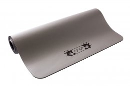 เสื่อโยคะ Grip - Solid Series (Non-Slip) Mat 5mm : Grey