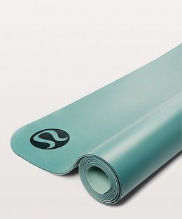 เสื่อโยคะ Lululemon - The Reversible Mat 3mm : SeaGreen