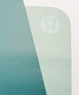 เสื่อโยคะ Lululemon - The Reversible (Un) Mat 1.5mm : Sea Green