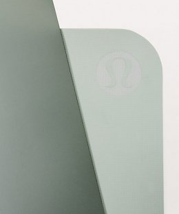เสื่อโยคะ Lululemon - The Reversible Mat 5mm : Earl Grey/Misty Moss