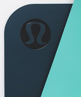 เสื่อโยคะ Lululemon - The Reversible Mat 3mm : Nile blue/Seaside