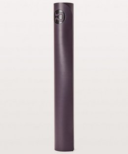 เสื่อโยคะ Lululemon - The Reversible Mat 3mm : Black Currant