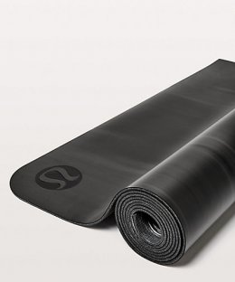 เสื่อโยคะ Lululemon - The Reversible Mat 3mm : Black/White