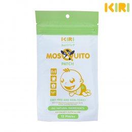 สติ๊กเกอร์ แผ่นแปะกันยุงคิริ KIRI Mosquito Repellent Stickers