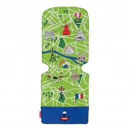 เบาะเสริมรถเข็น ลาย Paris City Map แบรนด์ Maclaren