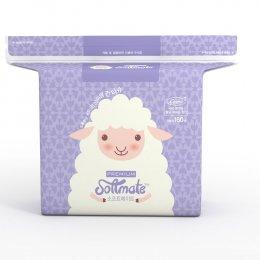 ทิชชู่แห้งอเนกประสงค์ Softmate Baby Dry Wipes รุ่น Premium แพ็ค 160 แผ่น