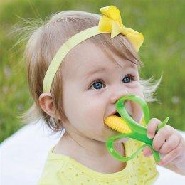 แปรงยางกัดข้าวโพด Corn Cob Infant Toothbrush - Baby Banana