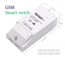 Sonoff G1 GSM ควบคุมสวิทซ์ระยะไกล รุ่นใส่ซิม