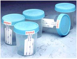 Specimen Container 90 ml.(Sterile)