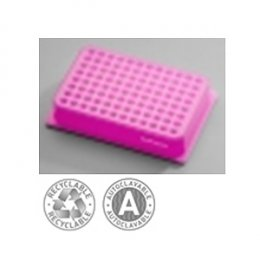 Iso Freeze gel Filled Rack 0°C PCR 96 P (Purple to Pink)